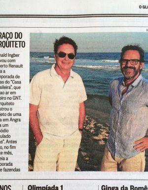 O Globo – Coluna Patricia Kogut